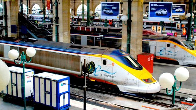 Euroista train.