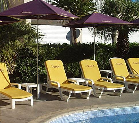 Hotel Eve pool area
