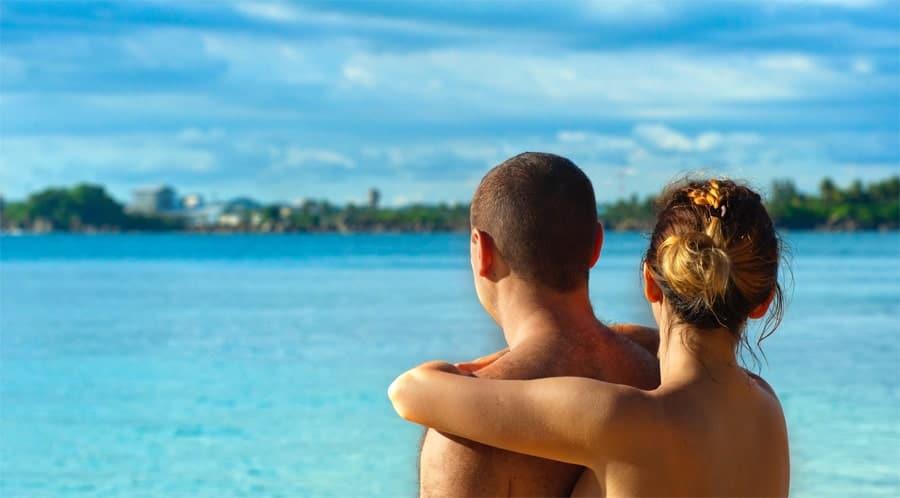 Enjoying winter naturist travel in the Caribbean