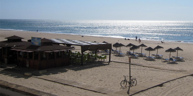 The beach mentioned in some of the cap d'agde reviews