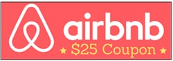 Free discount for Airbnb