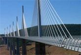 Millau bridge - a stunning piece of engineering on the drive to Cap d'Agde