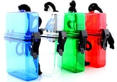 Waterproof container for keeping your small items dry